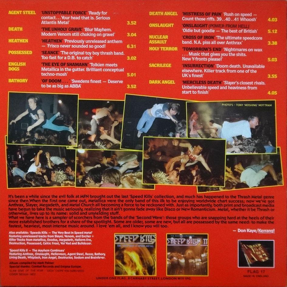 The Corroseum Speed Kills Iii Lp 1987